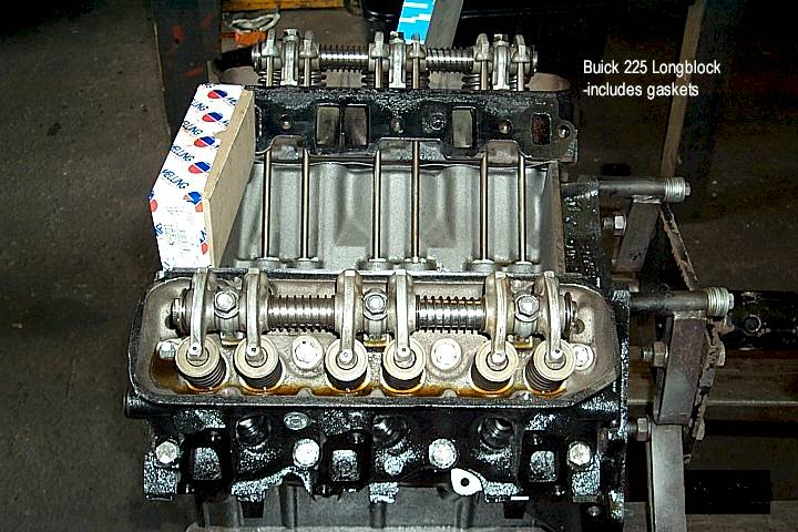 215 buick crate engine and tranny