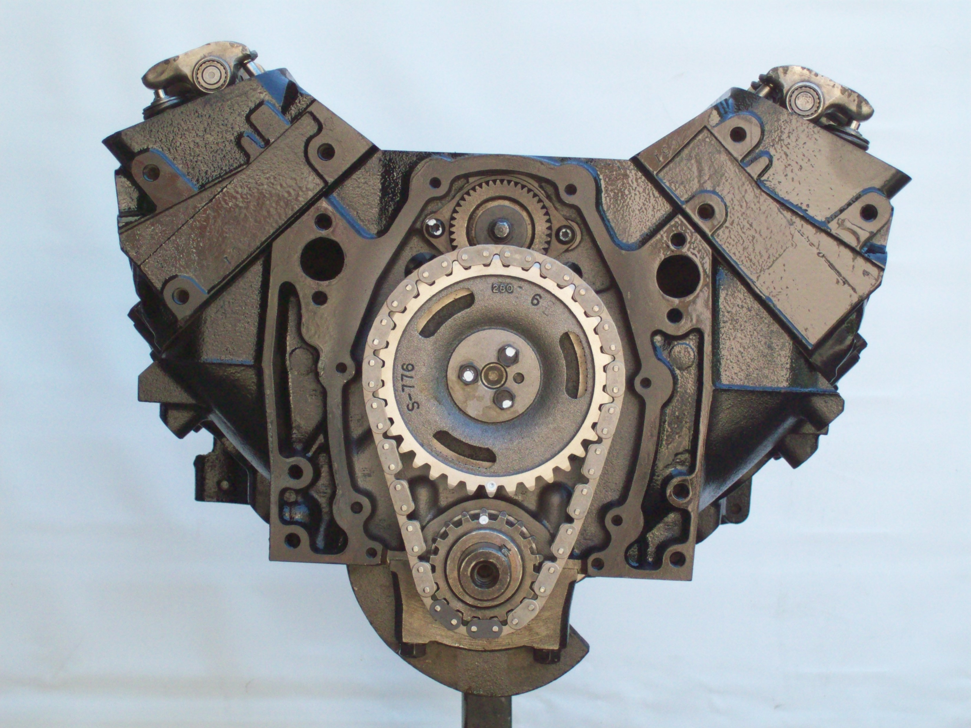 4.3 marine longblock w bal shaft and 6 bolt timing cover marine remanufactured engines inboard  at eliteediting.co